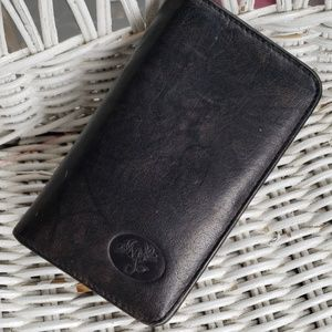 Buxton Small Leather Wallet Cardholder Black